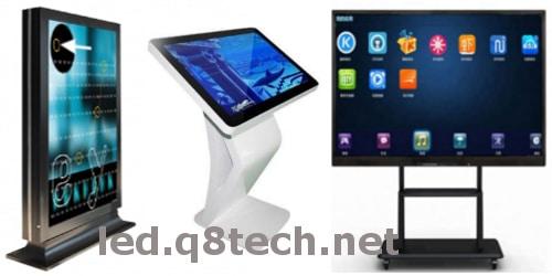 شاشات لمس تطبيقات واستخدامات